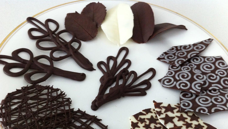 Украшение из шоколада как сделать шоколад