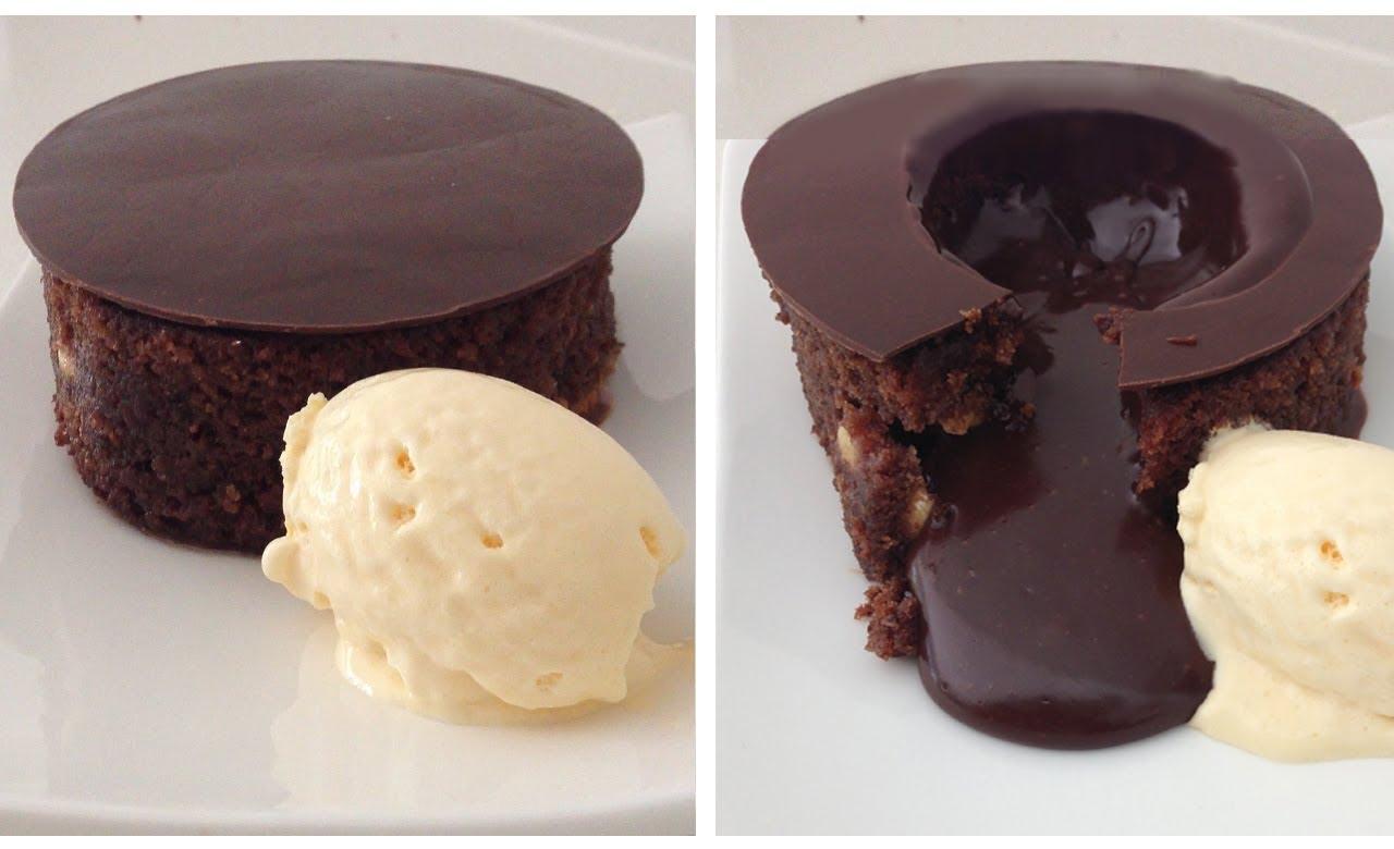 Magical Chocolate Lava Cake