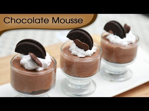 Super Simple Chocolate Mousse Dessert - Taste and Bake
