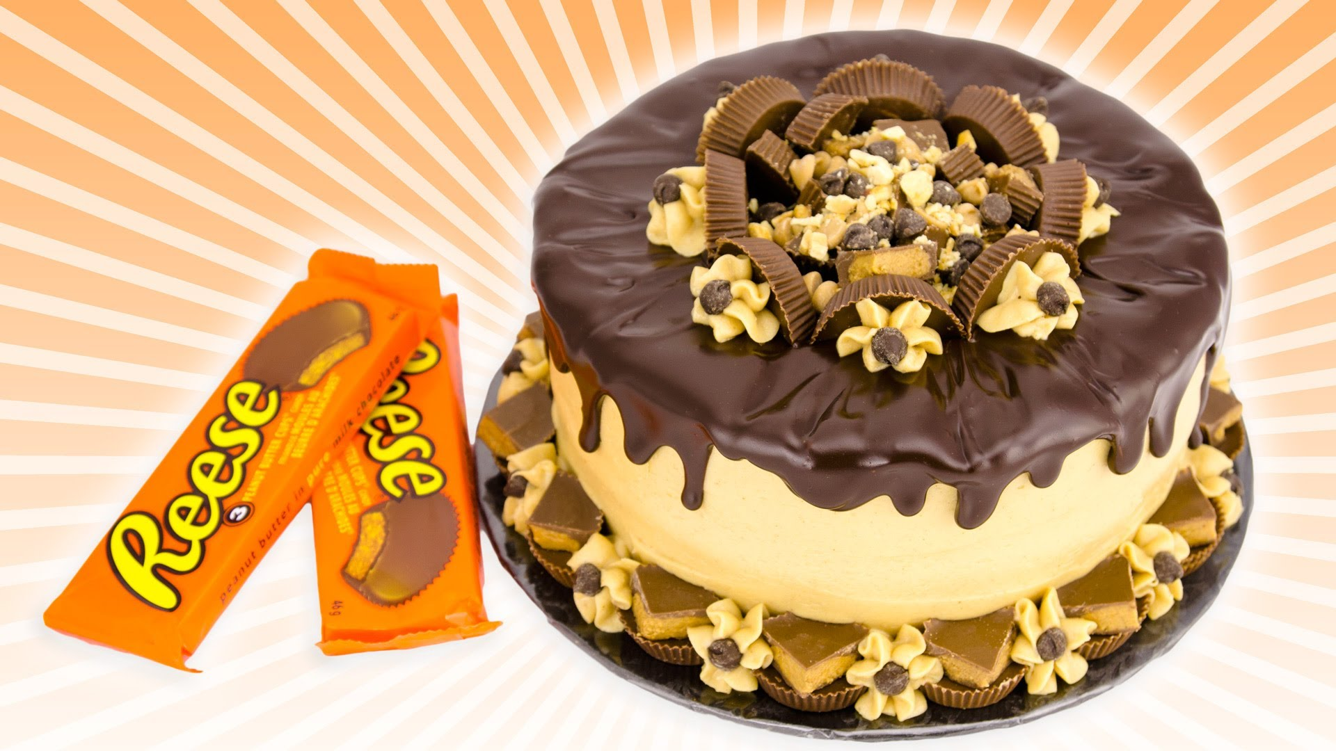 Find Out Why No Reeses Fan Will Say No To This Chocolate Peanut Butter Cake