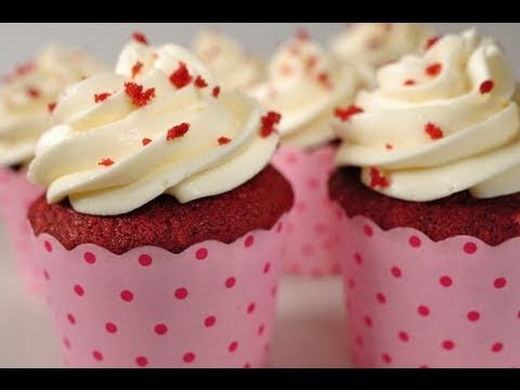 Red Velvet Cupcakes With A Special Ingredient