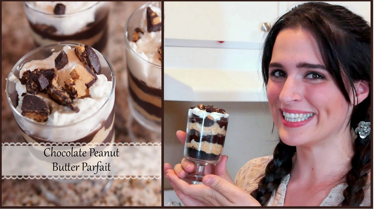 You Will Not Taste A Better Chocolate Peanut Butter Parfait … EVER!
