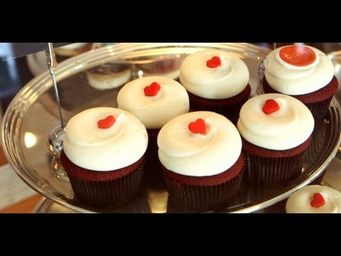 Learn How to Make Georgetown Cupcake's Famous Red Velvet Cupcakes