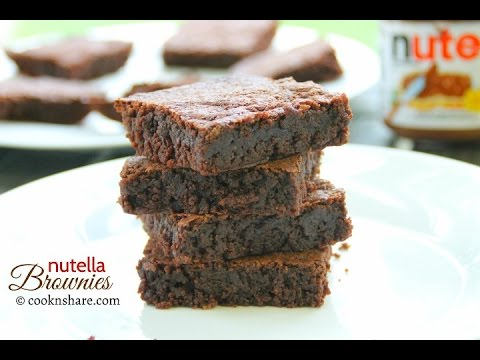 Make This 3 Ingredient Nutella Brownie Delight Today