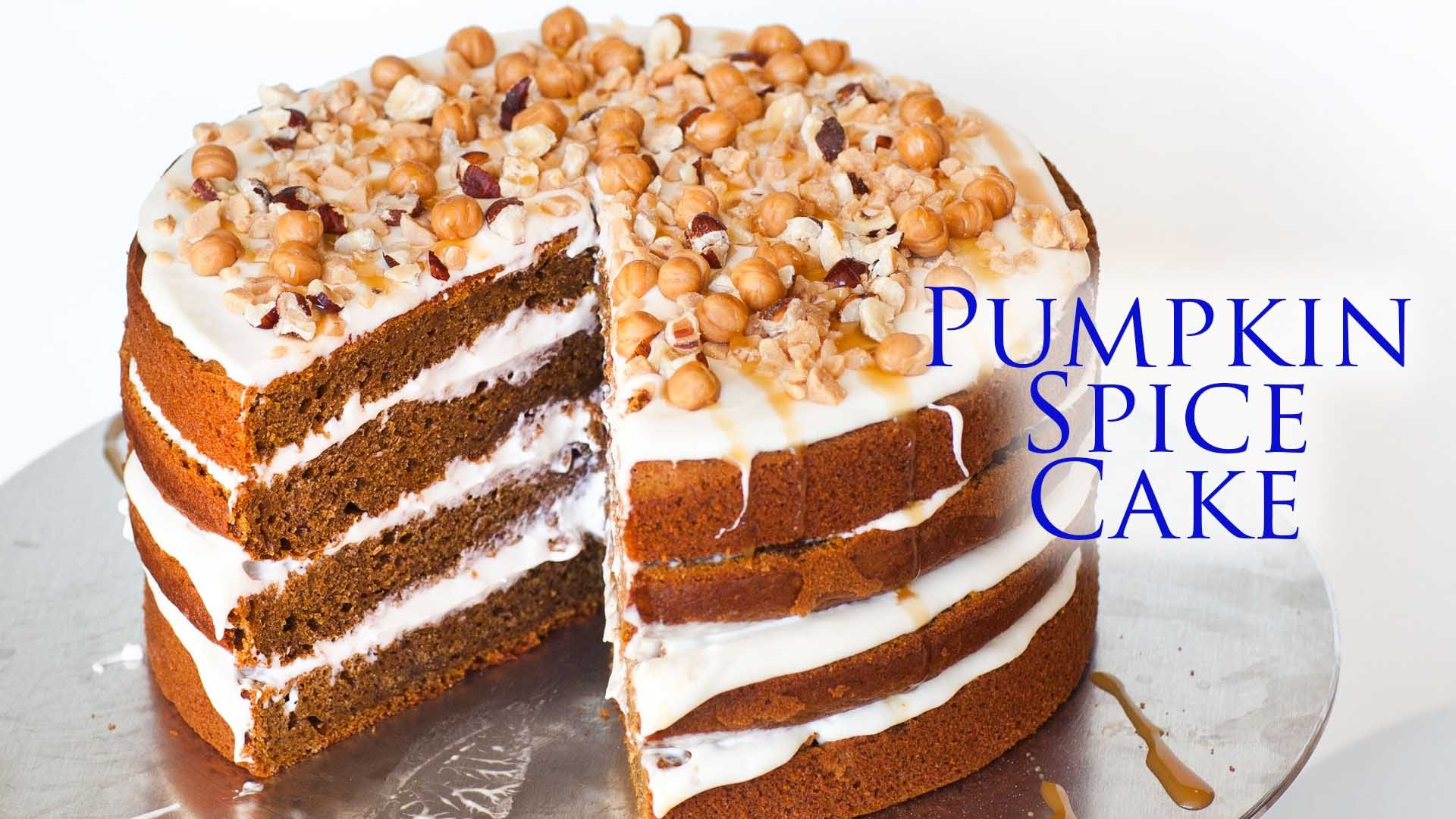 Ring In The Autumn, And Serve This Delicious Pumpkin Spice Cake This Year