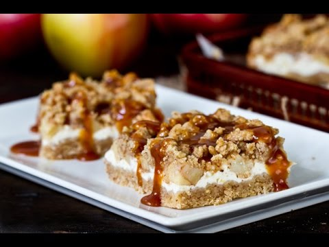This Caramel Apple Cheesecake Bars RECIPE Is One Of The Best Apple Desserts Ever