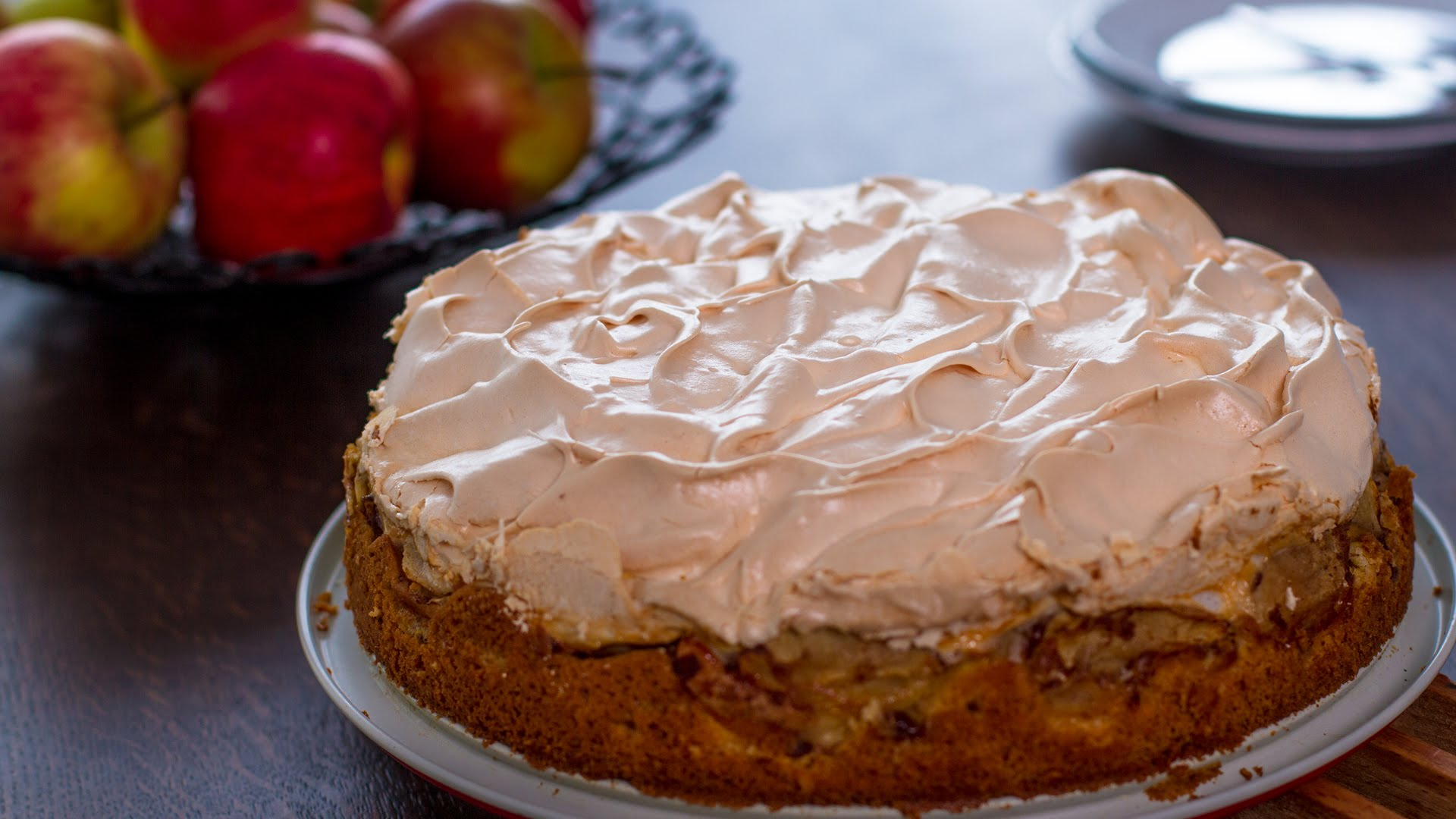 This is Definitely Not Your Traditional Apple Cake Recipe