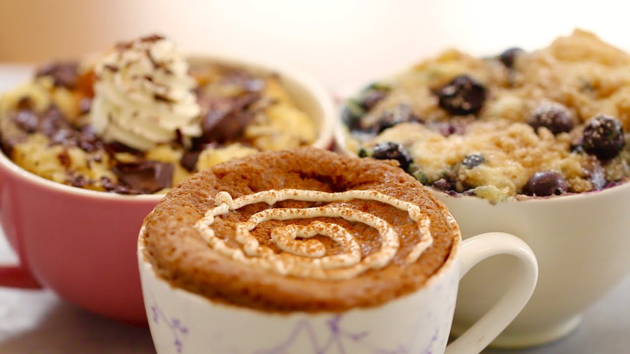 1 Minute Microwave Mug Breakfasts That Will Have You Wondering If You Are Eating Dessert