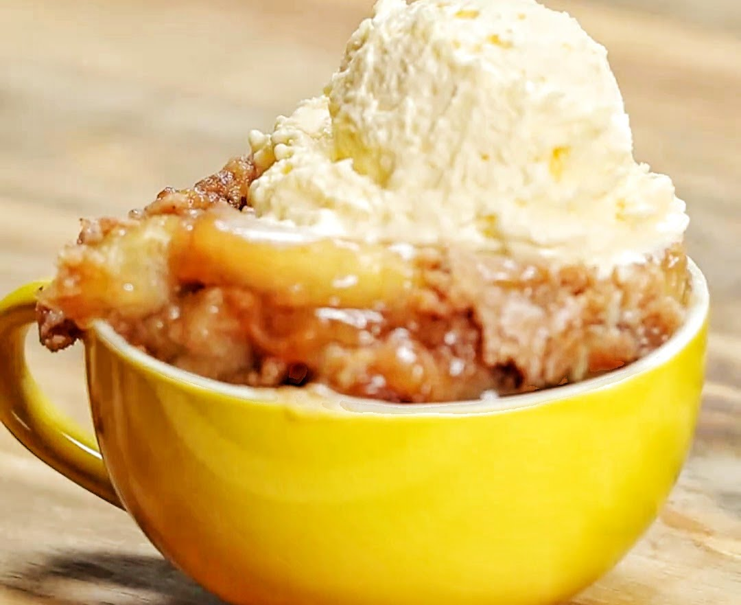 Slow Cooker Apple Cake Mix