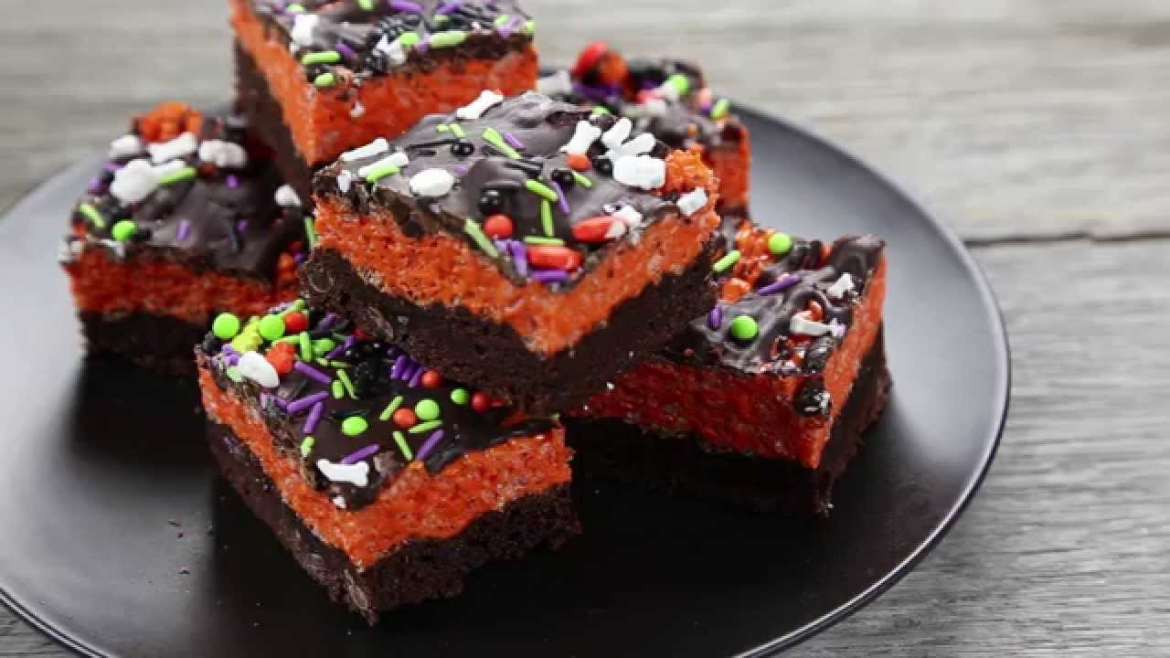 These Brownie Krispy Treats Are The Perfect Halloween Treat