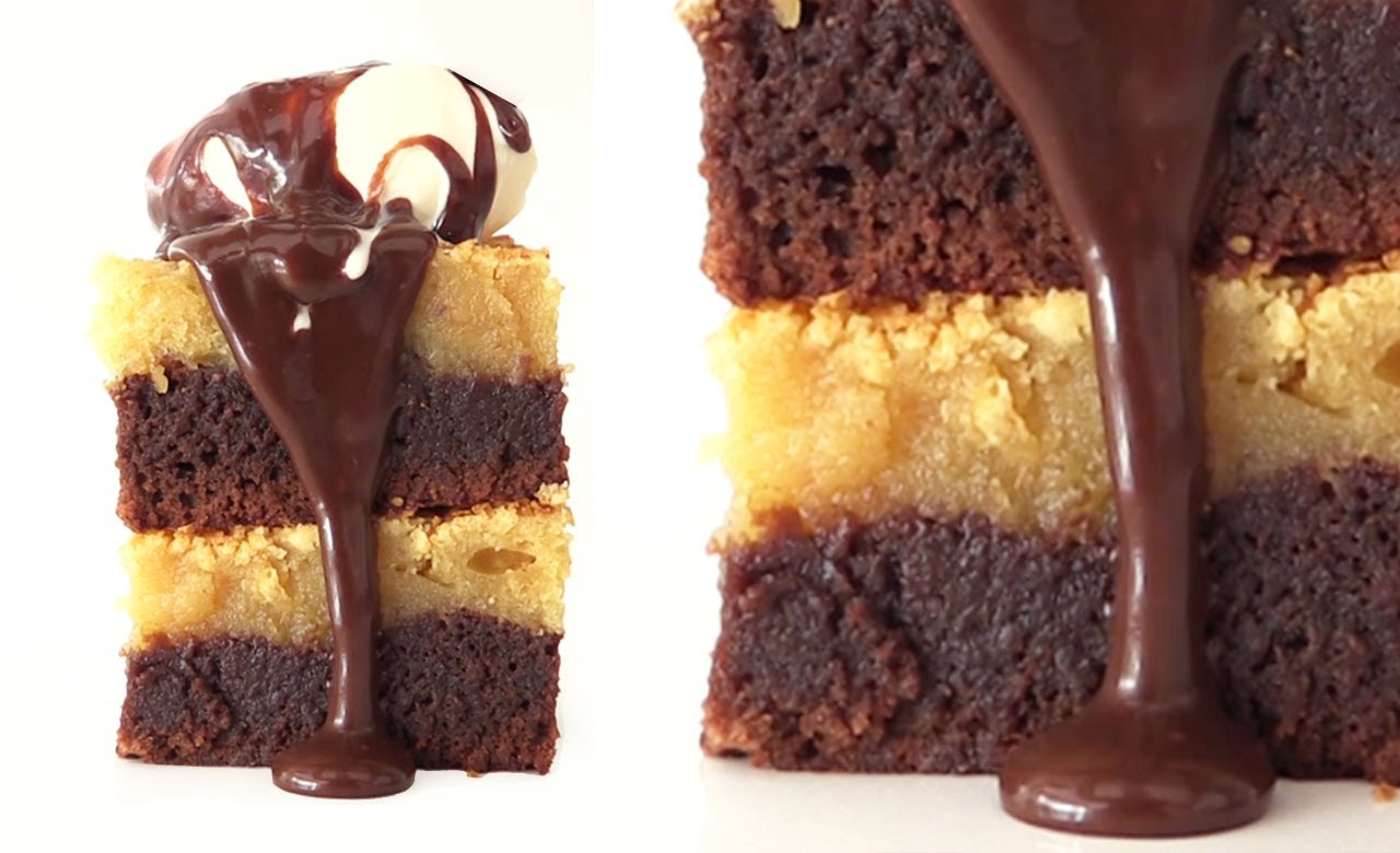 What She Adds To The Peanut Butter Layer In This Gooey Chocolate Brownie Will Have You Saying Mmmm