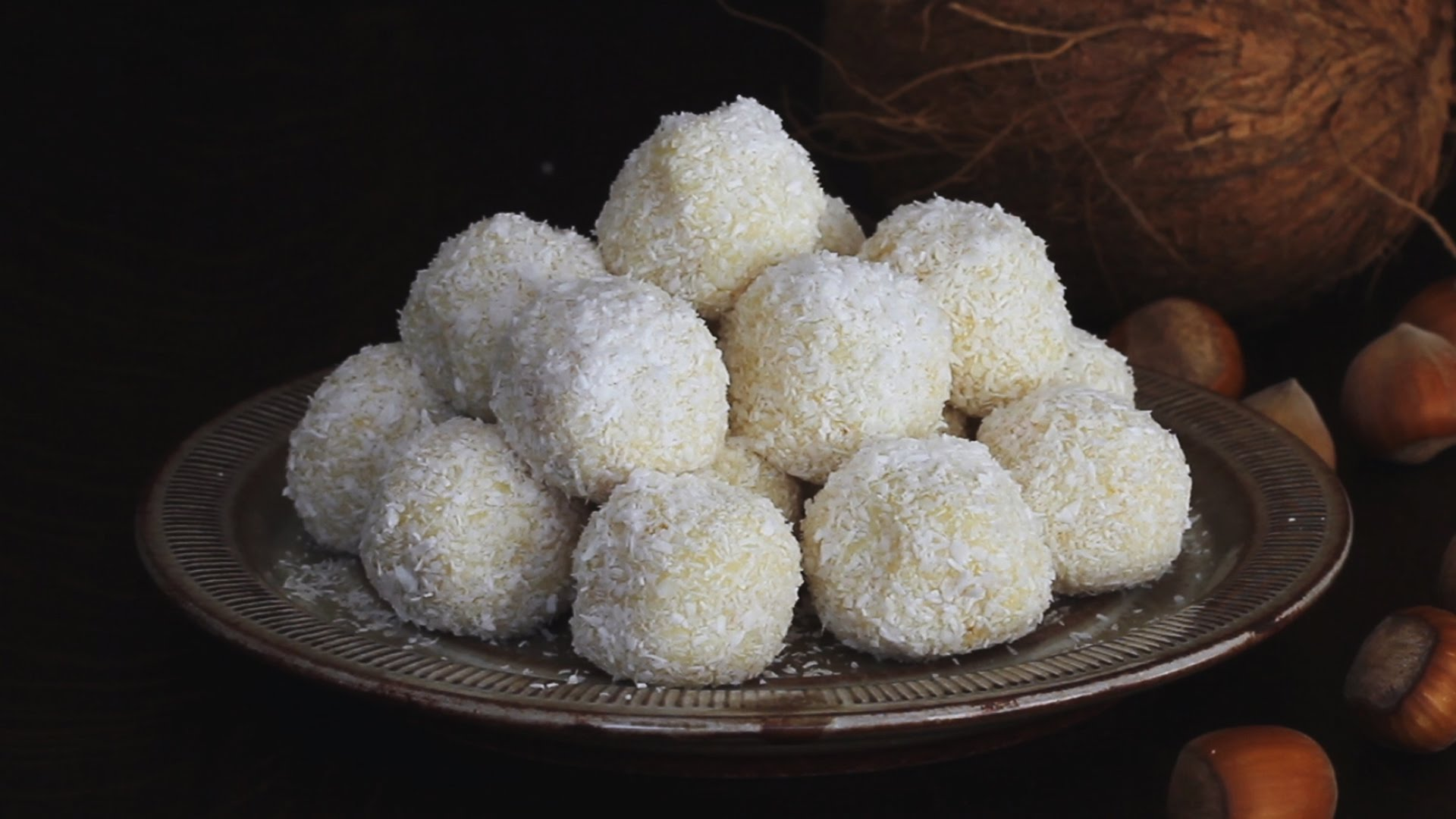 Wow Your Guests With These Elegant White Chocolate And Coconut Truffles