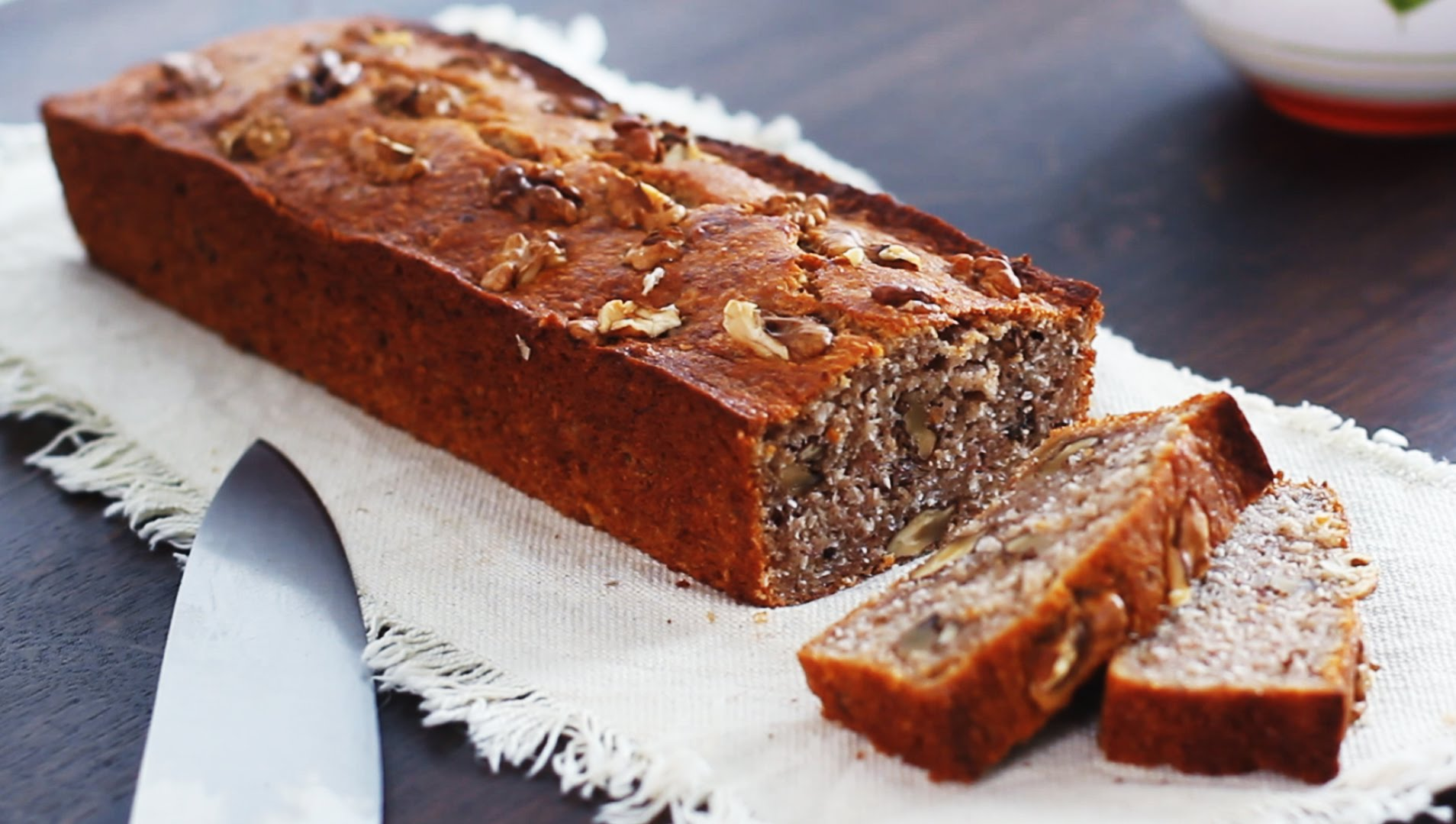 You Will Never Guess What Ingredient She Adds To This Banana Bread