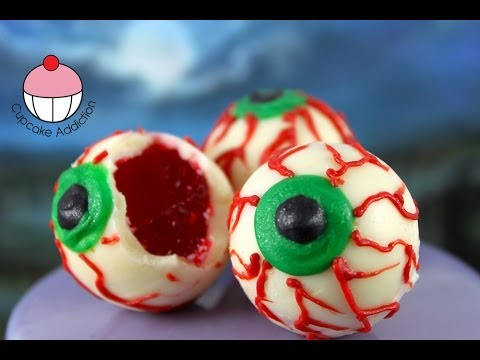 You Won't Believe What Comes Out Of These Halloween Eyes- Recipe