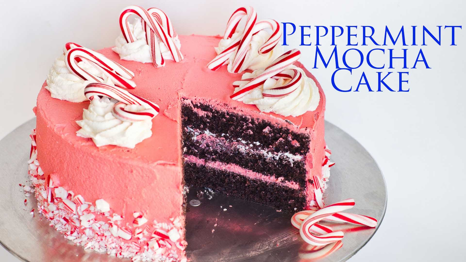 Besides Its Beauty Find Out What Special Ingredient Makes This Peppermint Mocha Cake Unbelievable