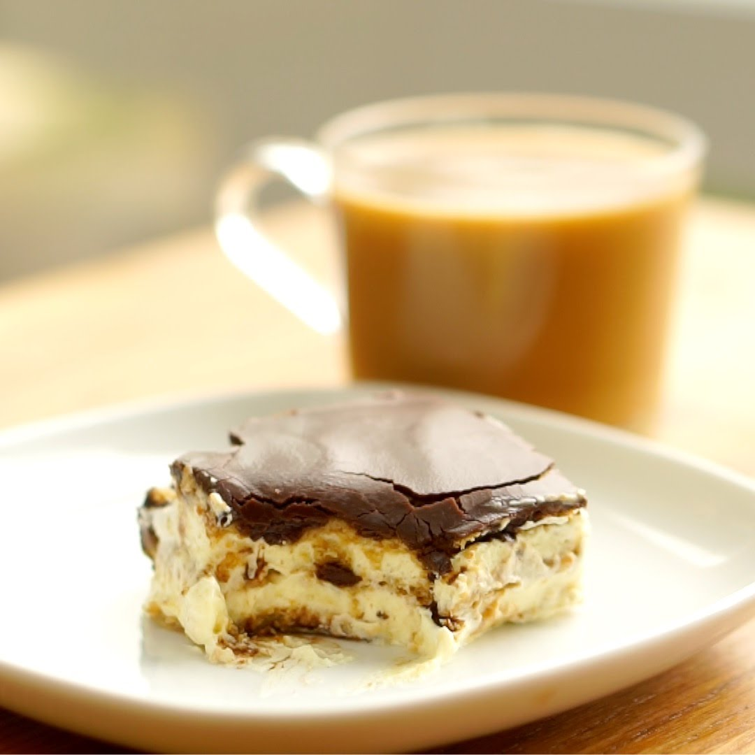 "The Easiest Chocolate Eclair Cake Ever – Yes ""Chocolate Eclair"" Cake"