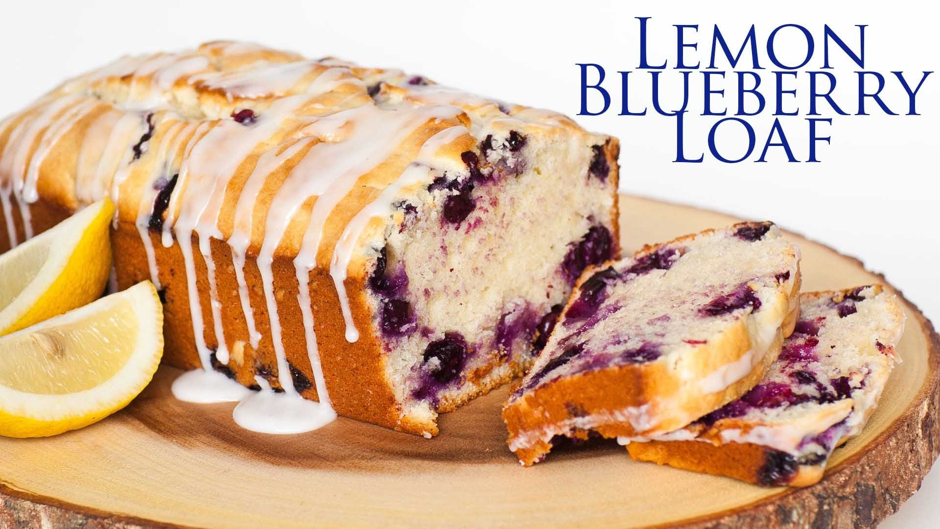 This Lemon Blueberry Loaf Has The Easiest Icing Ever, What Do You Think?