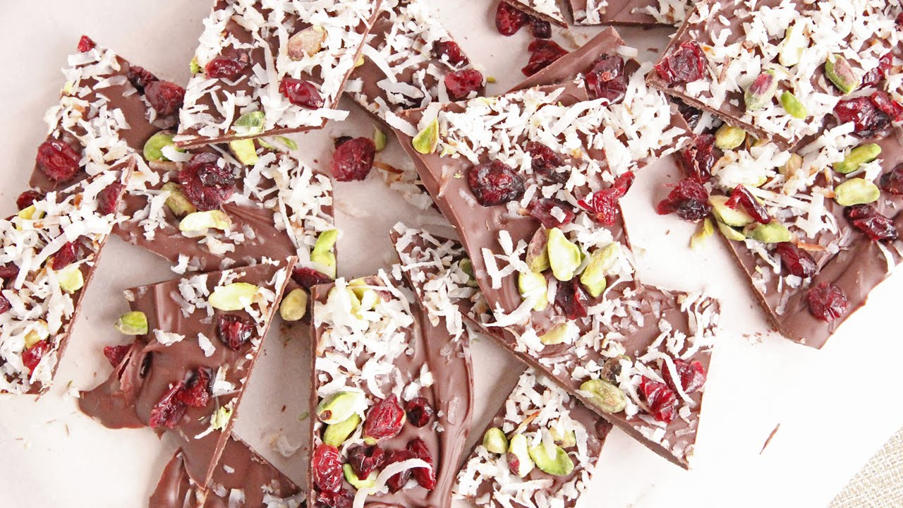 Holiday Bark With Only 4 Ingredients
