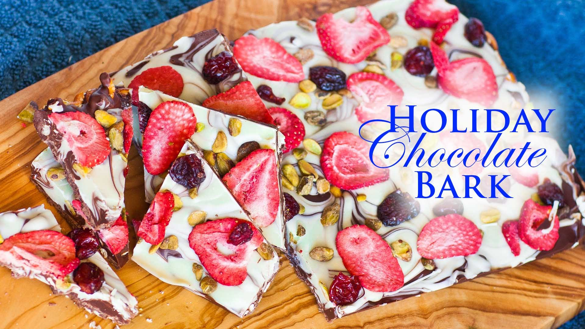 She Places The Tastiest Ingredients Into This Holiday Bark… Why Didn't I Think Of This Before