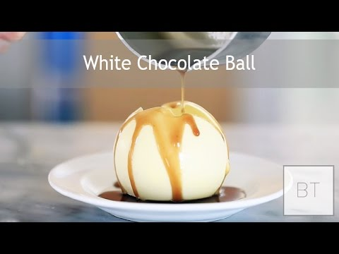Once He Melts This Chocolate Ball You'll Be Amazed
