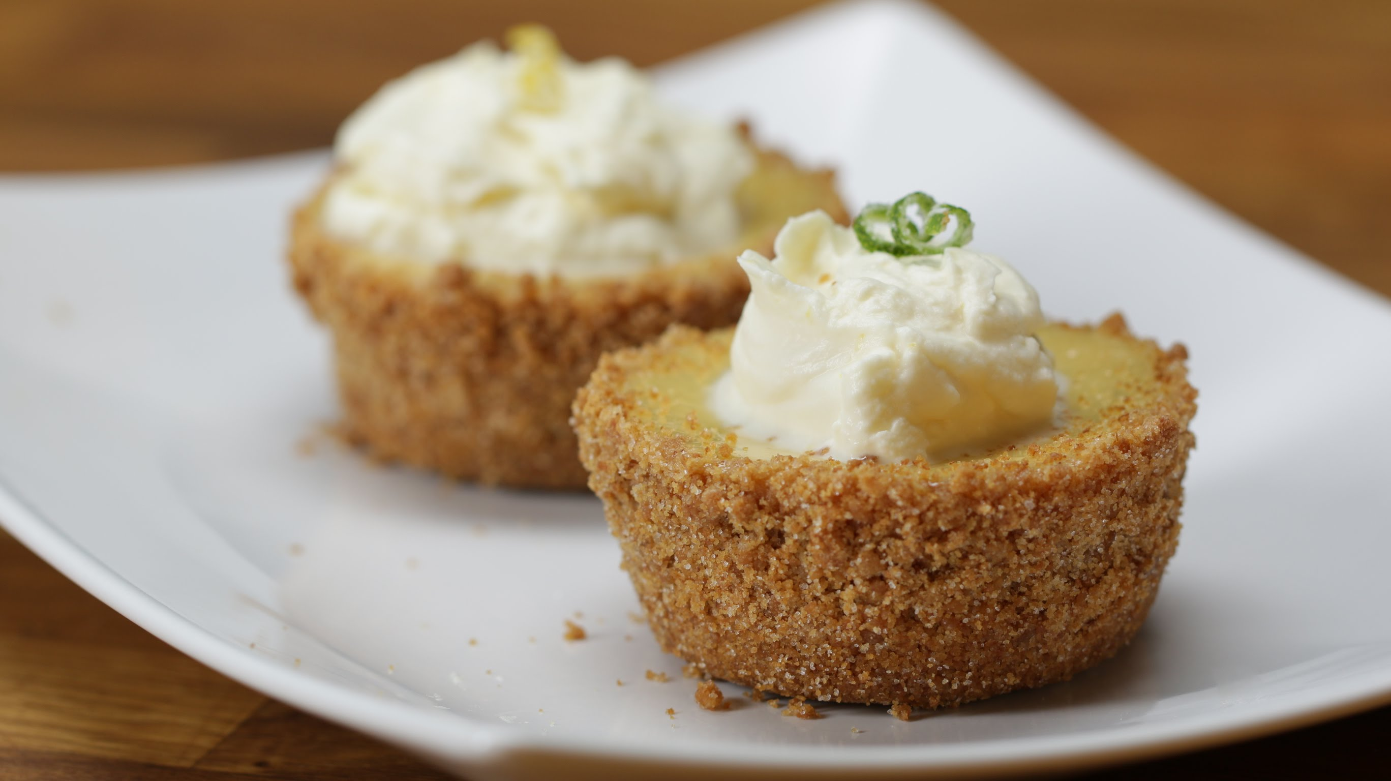 She Took This Traditional Key Lime Pie And Gave It A Hollywood Makeover