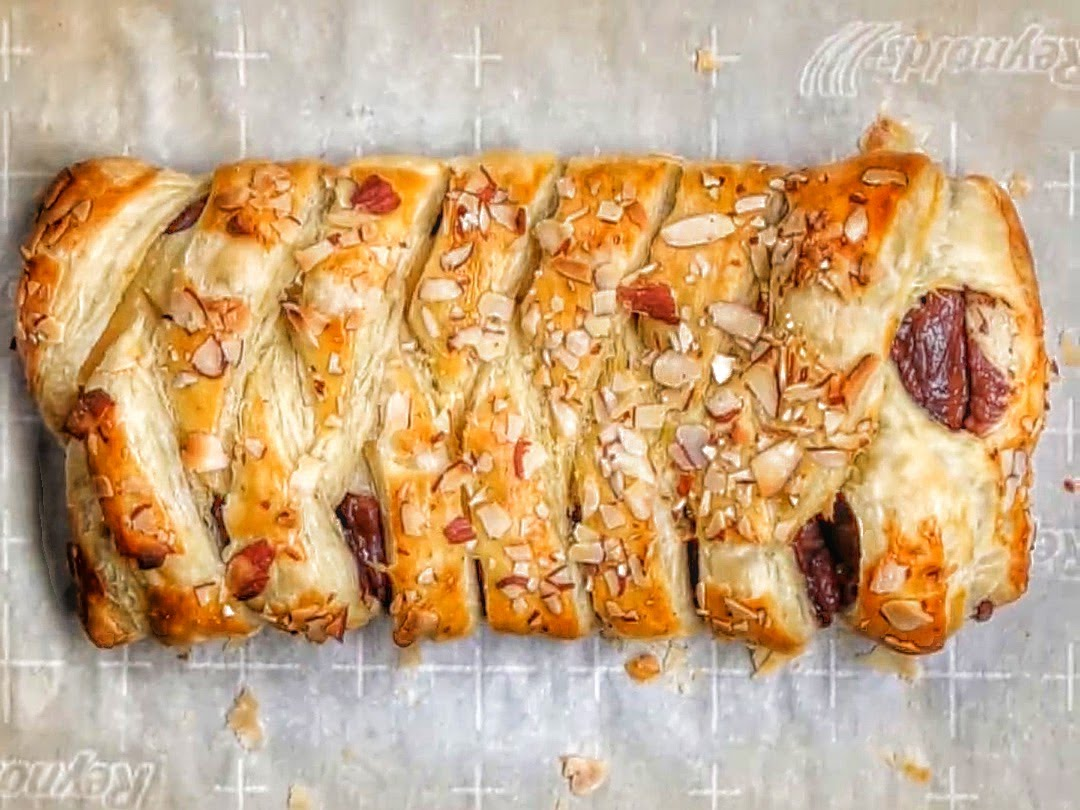 She Wrapped A Chocolate Bar In Puff Pastry And Baked It. What She Made…I Almost Fell Over