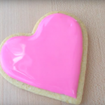 At First it Looks Like A Plain Pink Cookie… But Than She Did This