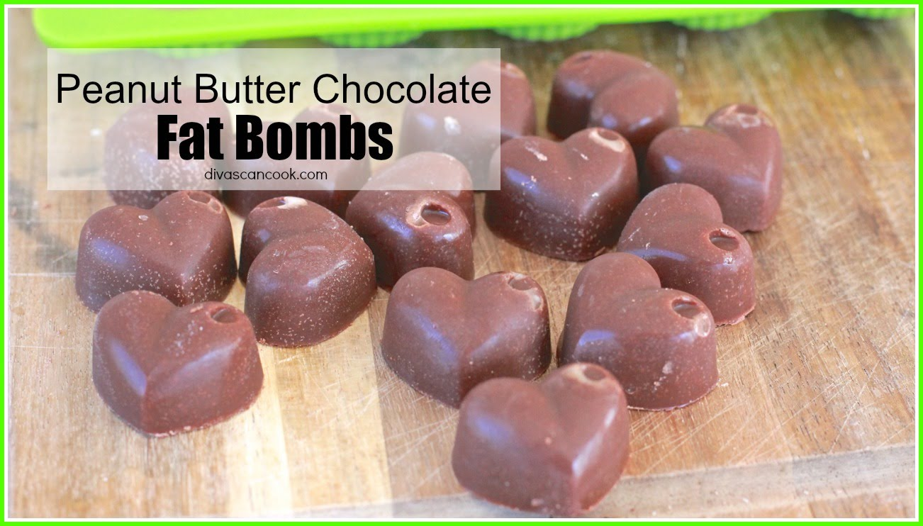 These Peanut Butter Chocolate FAT BOMBS May Become The Healthier Treat You've Been Looking For