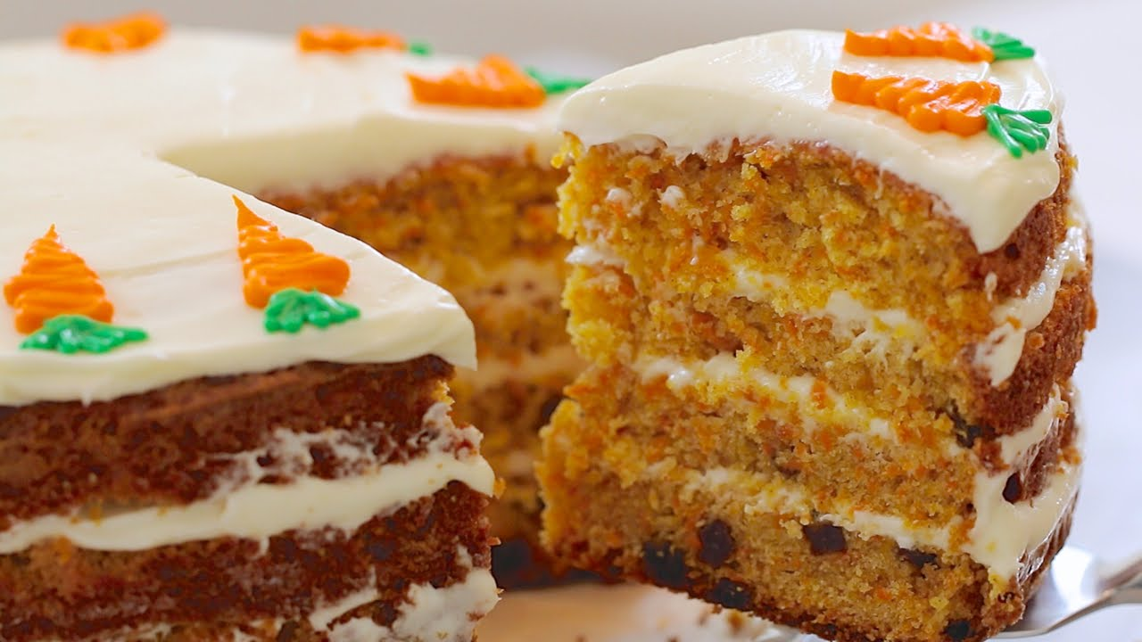 You Might Have Had Carrot Cake In The Past… But I Promise This One Is Completely Different
