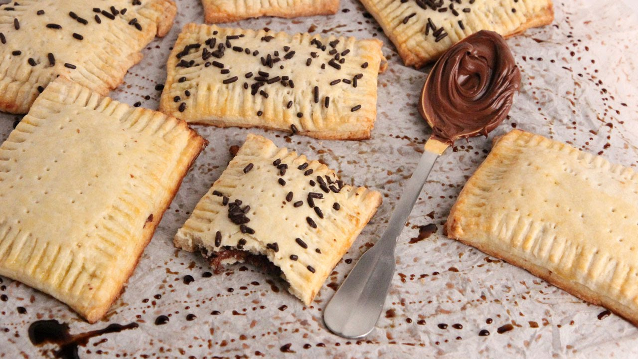 A New Spin On Your Regular Pop Tarts… We Now Have Nutella Pop Tarts