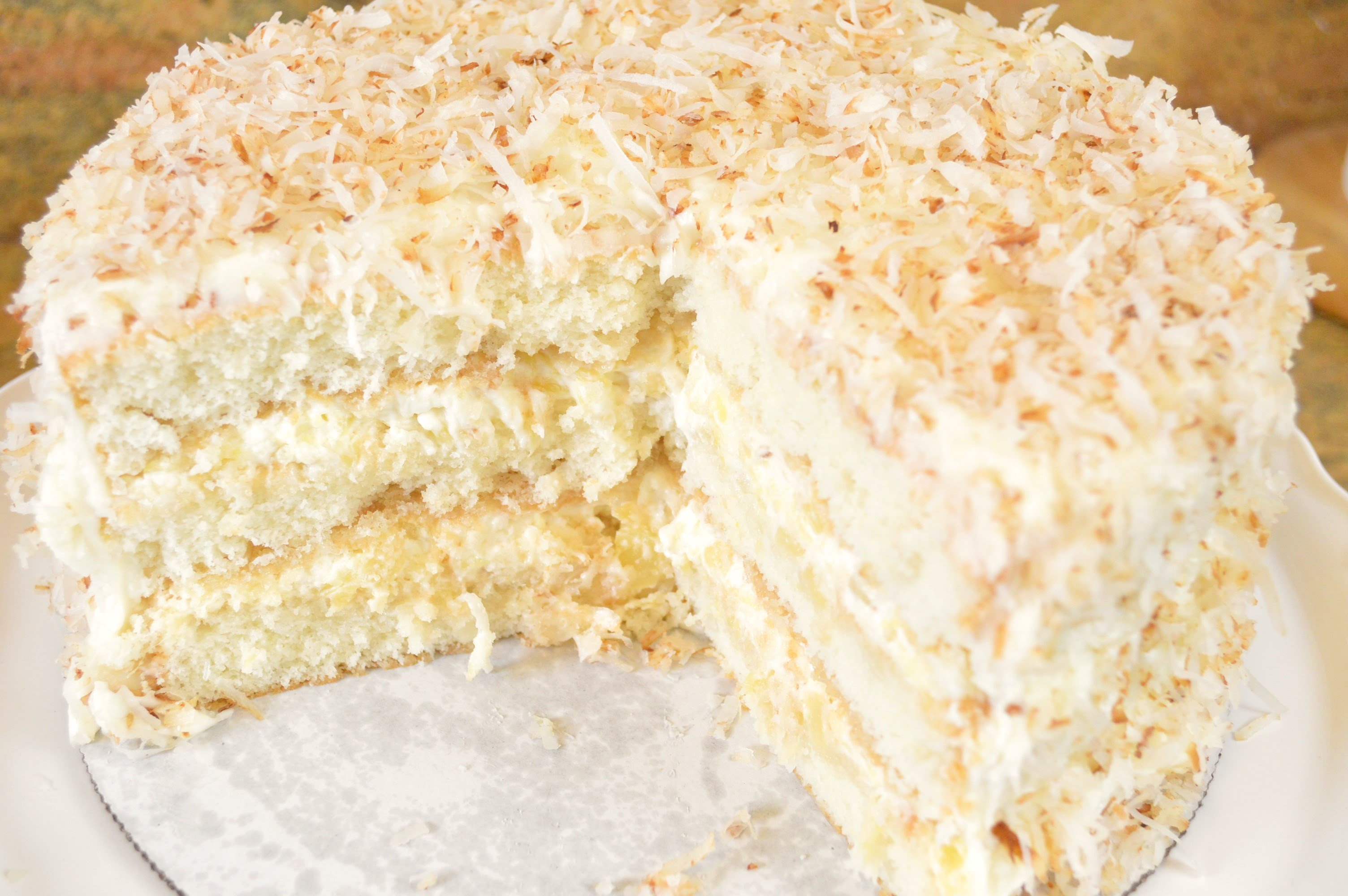 This Coconut Pineapple Cake's Secret Ingredient Is So Obvious…Yet Absolutely Brilliant