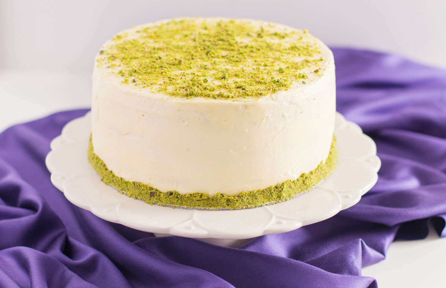 Find Out How She Changes It Up With This Pistachio Cake