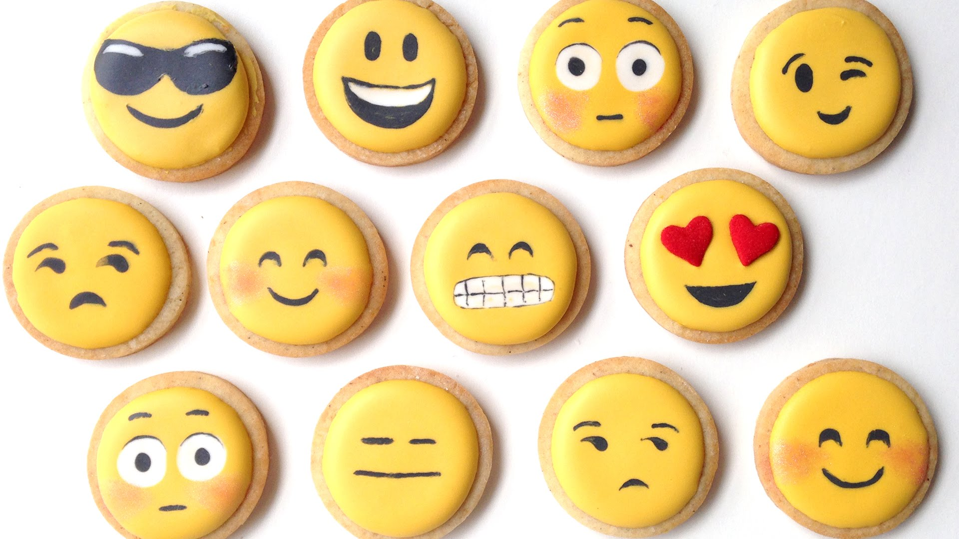 Her Technique In Making These Emoji Cookies Will Have You Memorized