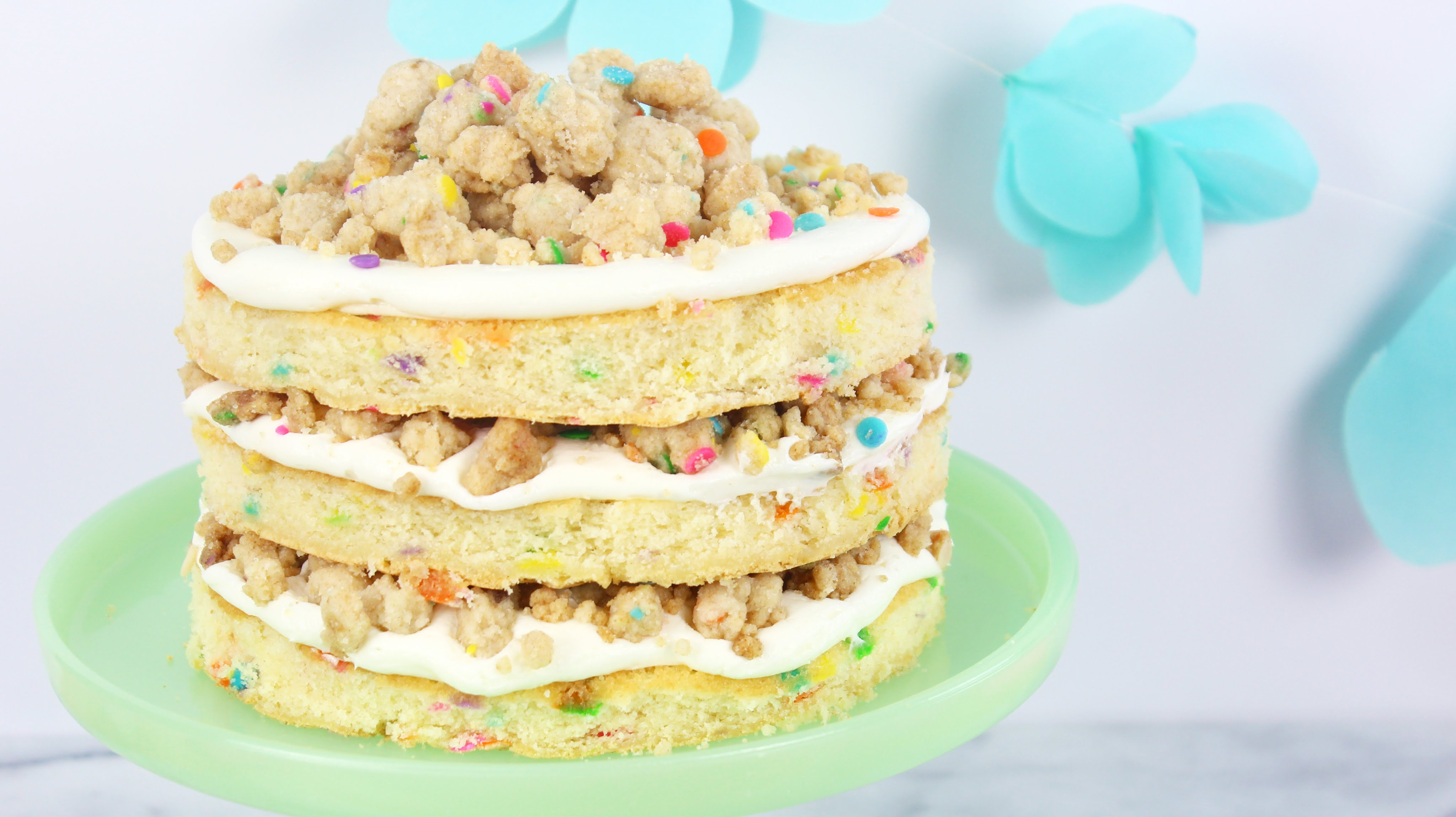 Make Someone Feel Special With This Unique Funfetti Birthday Cake