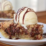 No Need To Adjust Your Screen… This Really Is A Deep Dish Chocolate Chip PIE!