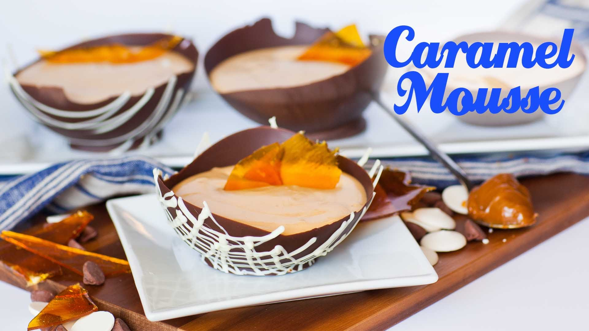 She Pours The Caramel Mousse In One Of The Best Creations Ever!