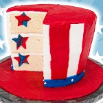 Create This American Flag Hat Cake For This Fourth Of July