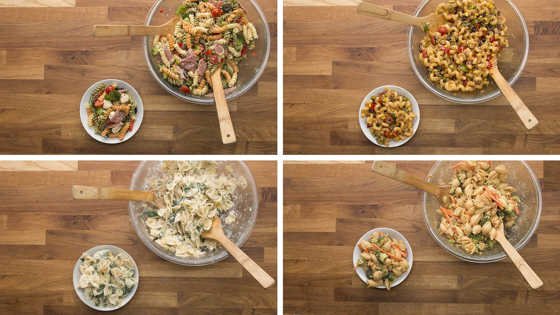 Make Your Own Pasta Salad Now… Here Are 4 Different Ways
