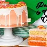 She Uses Fresh Peaches And Creates A Phenomenon Peaches and Cream Ombre Cake