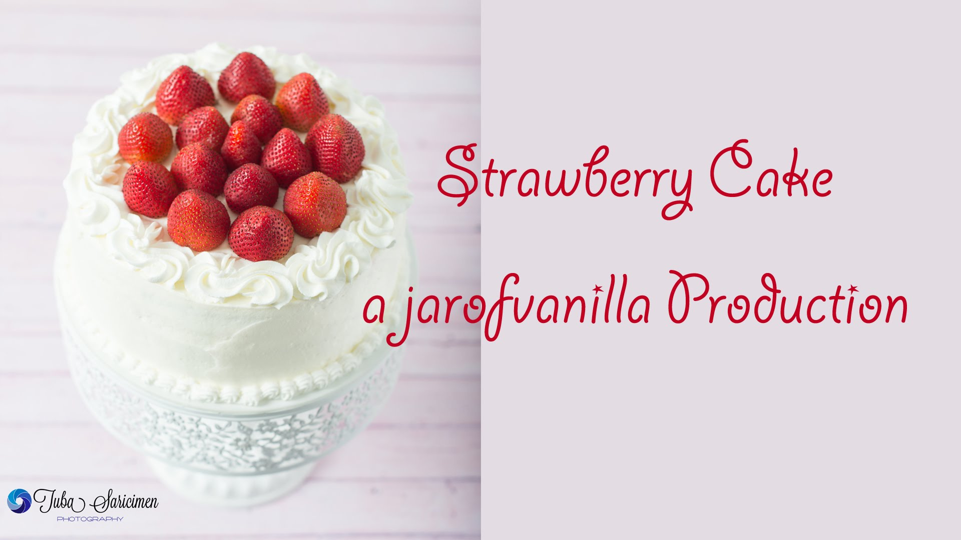 You'll Fall In Love With The Simplicity Of This Strawberry Cake With Cream Cheese Whipped Cream Frosting