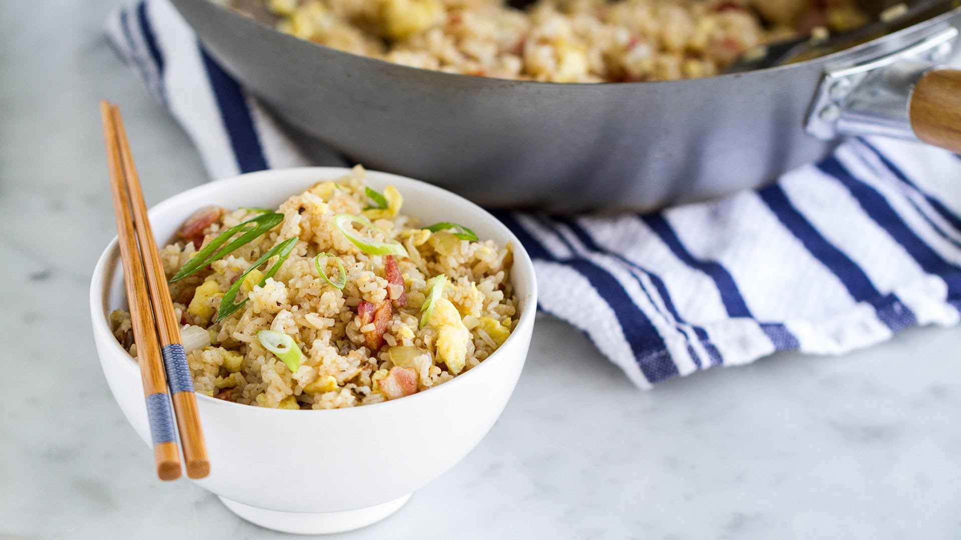 Looking For An Easy Meal? … Try This Bacon And Egg Fried Rice Recipe