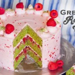 Looking For The Next Biggest Trend?… Green Tea Raspberry Cake