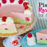 Make A Pistachio Raspberry Ice Cream Cake With No Machine