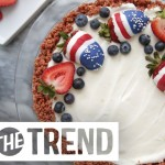 She Makes The Easiest Pie Crust In This Patriotic Cheesecake