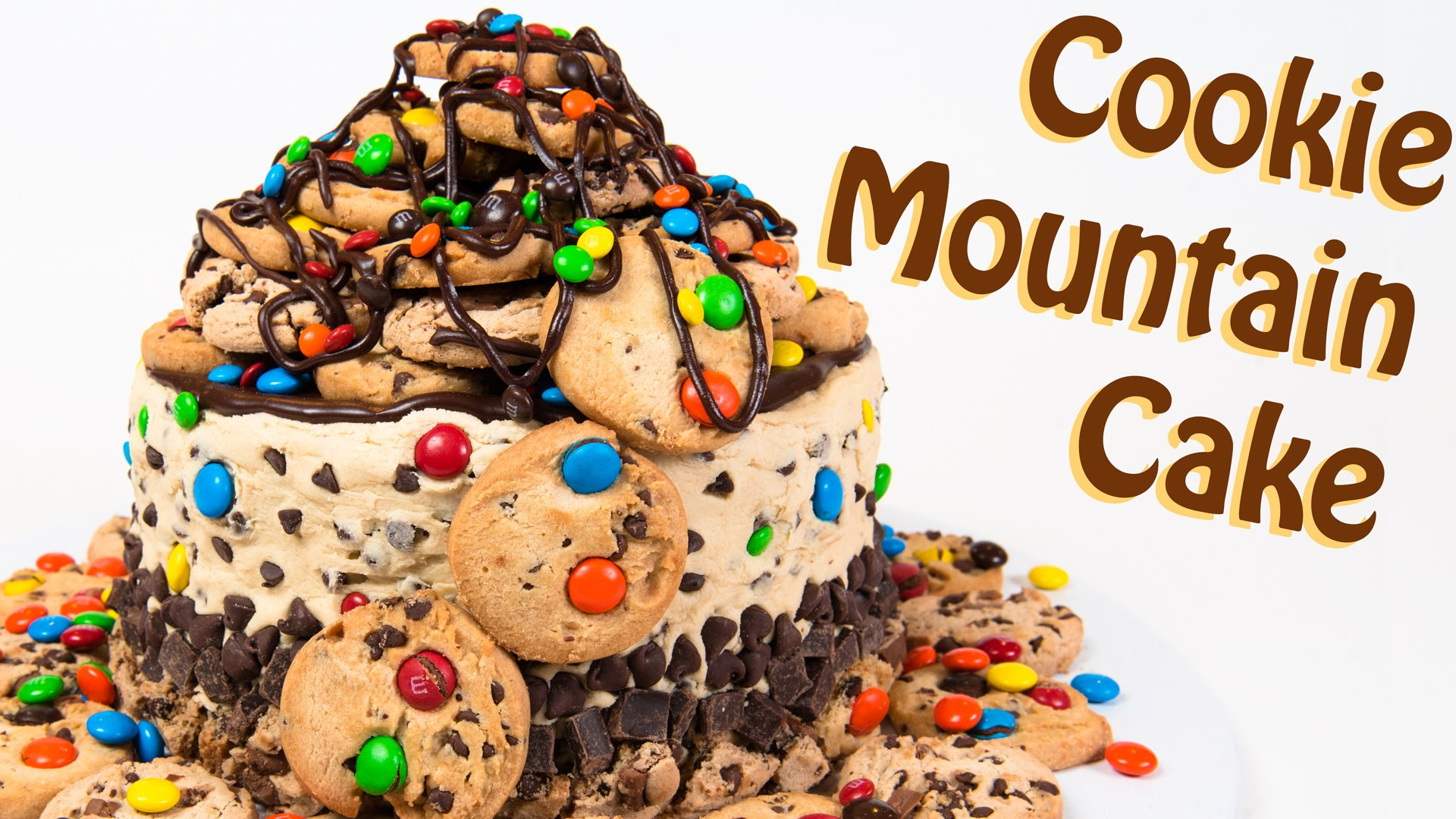 She Stacks Cookies On Top Of The Cake… But She Doesn't Stop There
