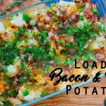 I Can't Believe How Quick It Was To Make This Loaded Bacon And Garlic Potato Recipe