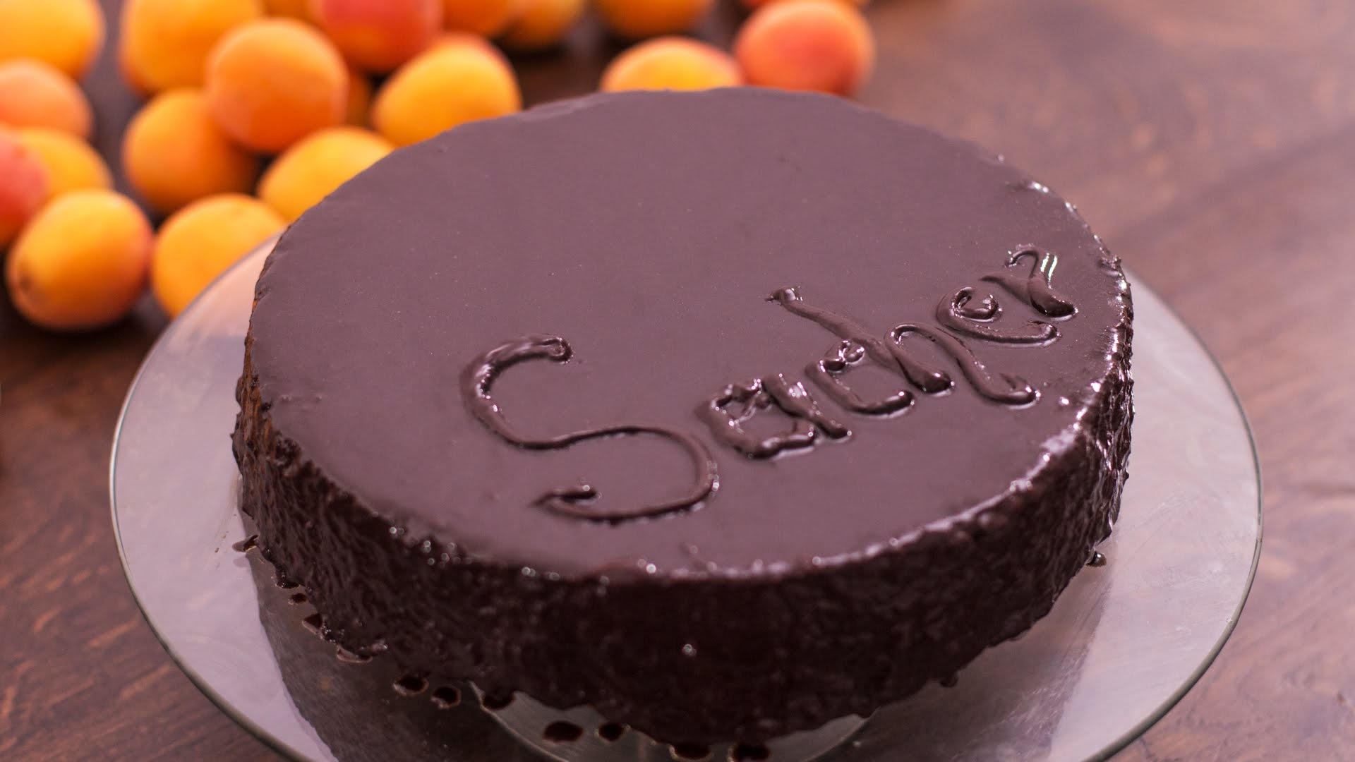 Learn To Make This Elegant Sacher Torte