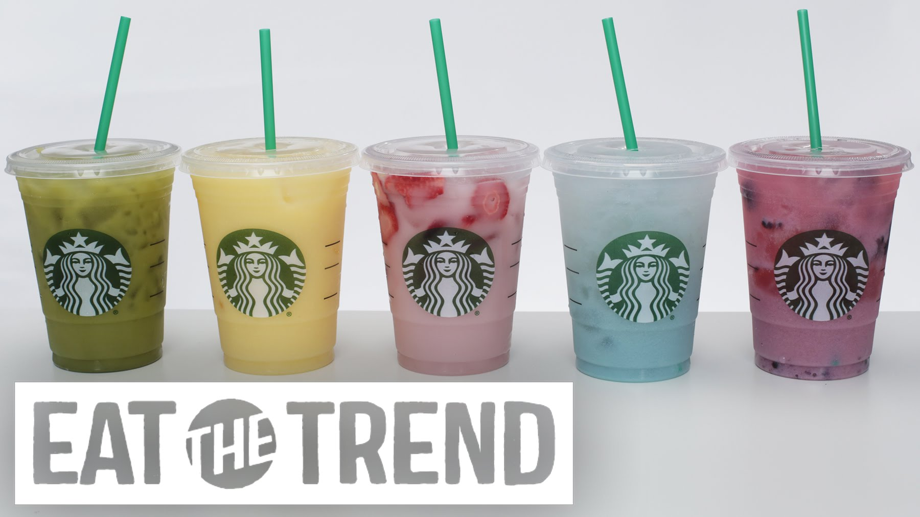 Make Your Own Starbucks Rainbow Drinks At Home
