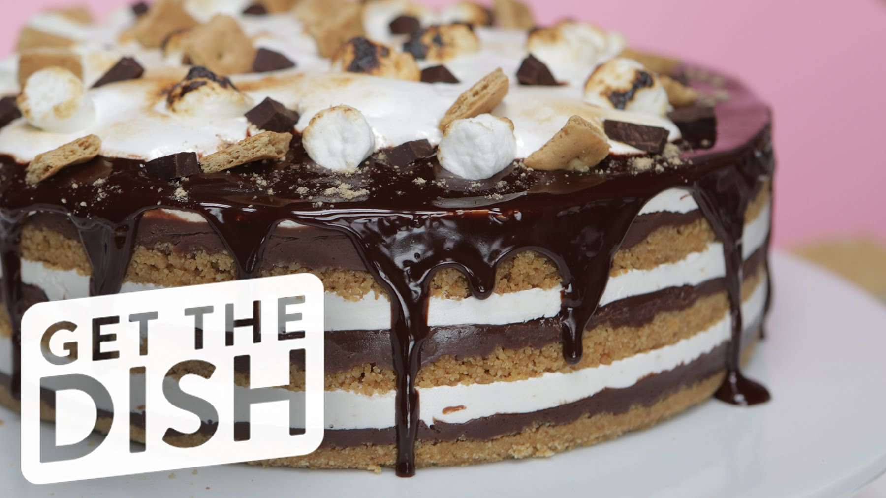 No Need For An Oven For This No-Bake S'mores Cake