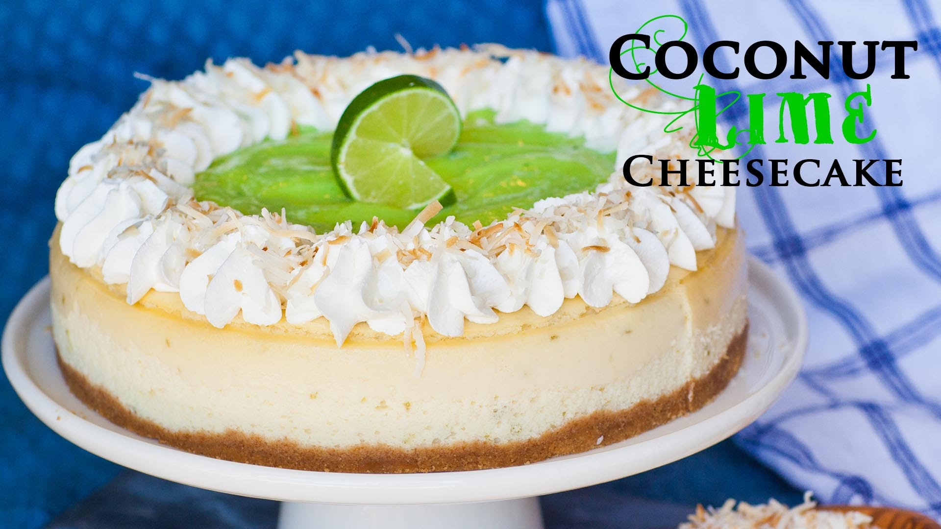 Perfect Combination Of Sweet And Sour With This Coconut Lime Cheesecake